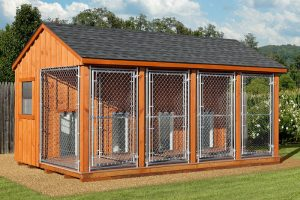 Dog Kennel image from Eberlybarns.net