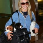 Julianne Hough and her two Cavalier King Charles Spaniels