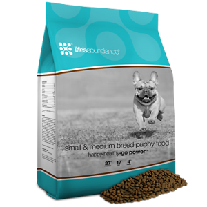 Life's Abundance Premium Dog Food for Small Dog Breeds